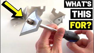 This Tool Helps RESTORE DOORS AND WINDOWS! See How...(Profile Paint Scraper/Steel Shave Hook)