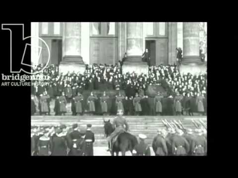 Clip of the Week: The Funeral of Germany's 1st President, Friedrich Ebert, 1925