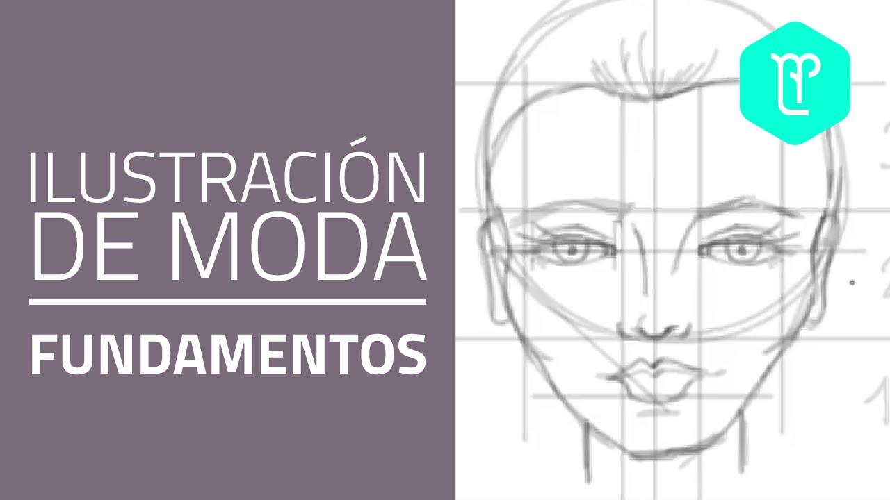 Cómo dibujar el rostro de mujer paso a paso - YouTube
