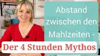 Abstand zwischen den Mahlzeiten - der 4 Stunden Mythos | Sasha Walleczek