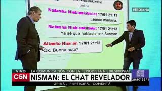 C5N - El Diario: Nisman y un chat revelador