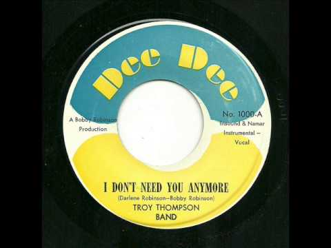 Troy Thompson Band - I Don't Need You Anymore (Dee Dee)