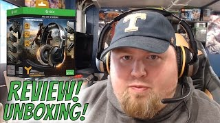 thrustmaster 350x ghost recon wildlands edition headset unboxing and review