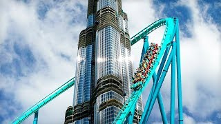 10 Most Appealing Roller Coasters