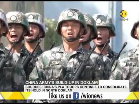 China's army build-up in Doklam