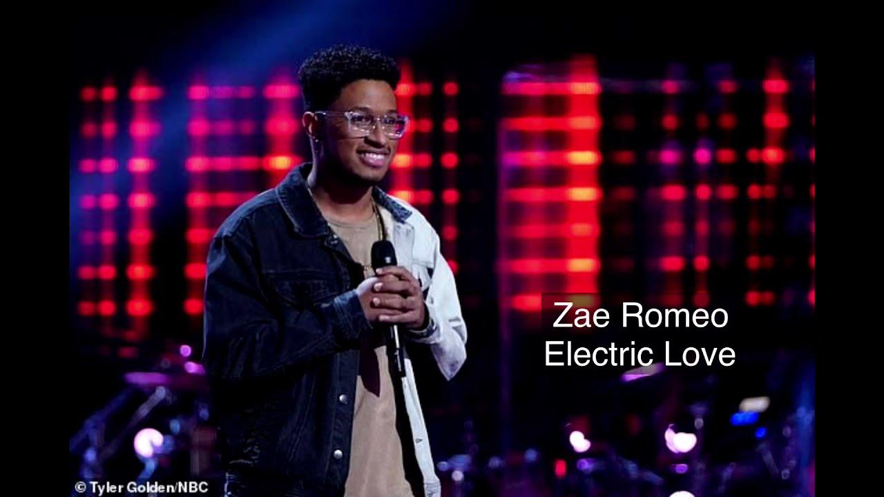 Download Zae Romeo - Electric Love | The Voice 2021 | Lyrics Video