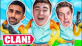 WE MADE A NEW CLAN! Ft  Lazarbeam & Vikkstar123