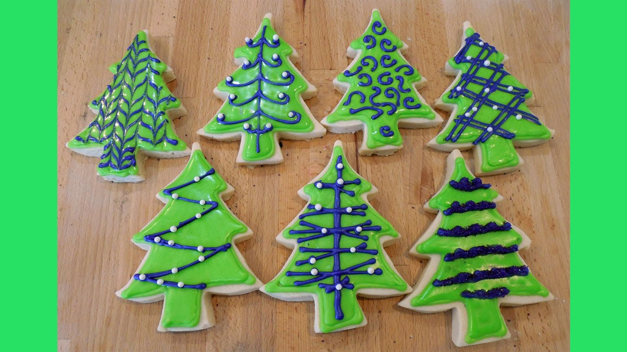 Decorating christmas tree cookies decorating christmas tree cookies