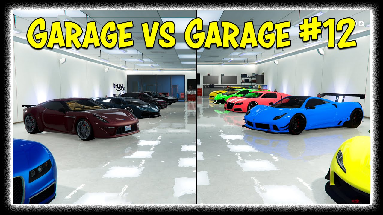 Gta 5 online the garage vs garage showdown ep 12 for 5 car garage
