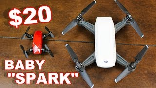 $20 DJI Spark Baby Foldable Camera Drone - S9 Drone - TheRcSaylors