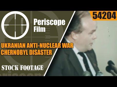 UKRANIAN ANTI-NUCLEAR WAR  / CHERNOBYL DISASTER PROPAGANDA FILM  54204