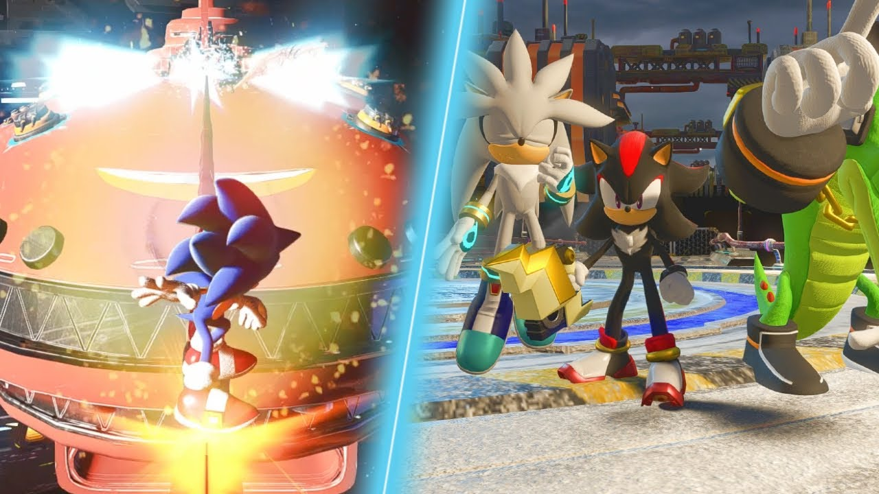 "Sonic Forces: ""Normal"" Stages Revamped (New QTEs)"