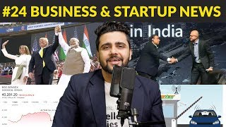 Business News #24 |Satya Nadella & Trump in India, $3 billion Deal, Mukesh Ambani, Amazon, FASTag