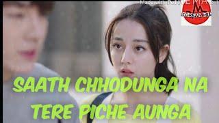 Saath chhodunga Na Tere Piche Aunga || The Korean Mix