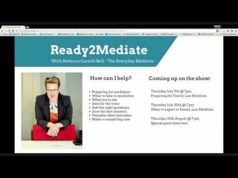 Ready2Mediate: Prepare for Family Law Mediation