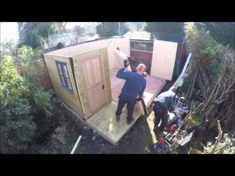 build a garden office. build a garden office