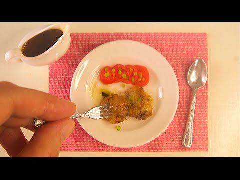THANKSGIVING RECIPE: ROASTED MINI BREAST TURKEY | MINIATURE COOKING | KITCHEN SET | ASMR DIY FOOD