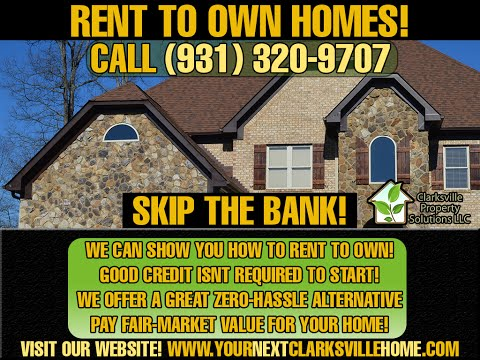 How exactly does rent to own work in Clarksville TN / Oak Grove KY?