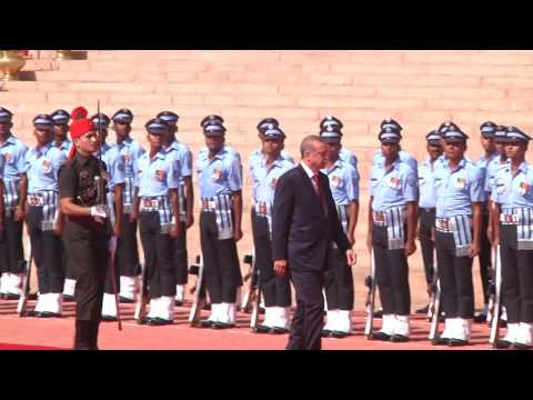 Ceremonial welcome of President Recep Tayyip Erdogan of the Republic of Turkey