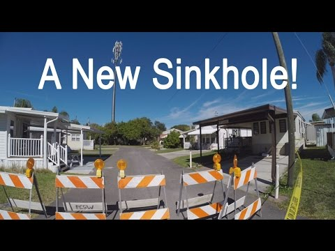 A New Sinkhole And Computer Upgrade Nightmare