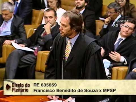 Pleno - STF inicia julgamento sobre porte de drogas para consumo próprio (1/2)