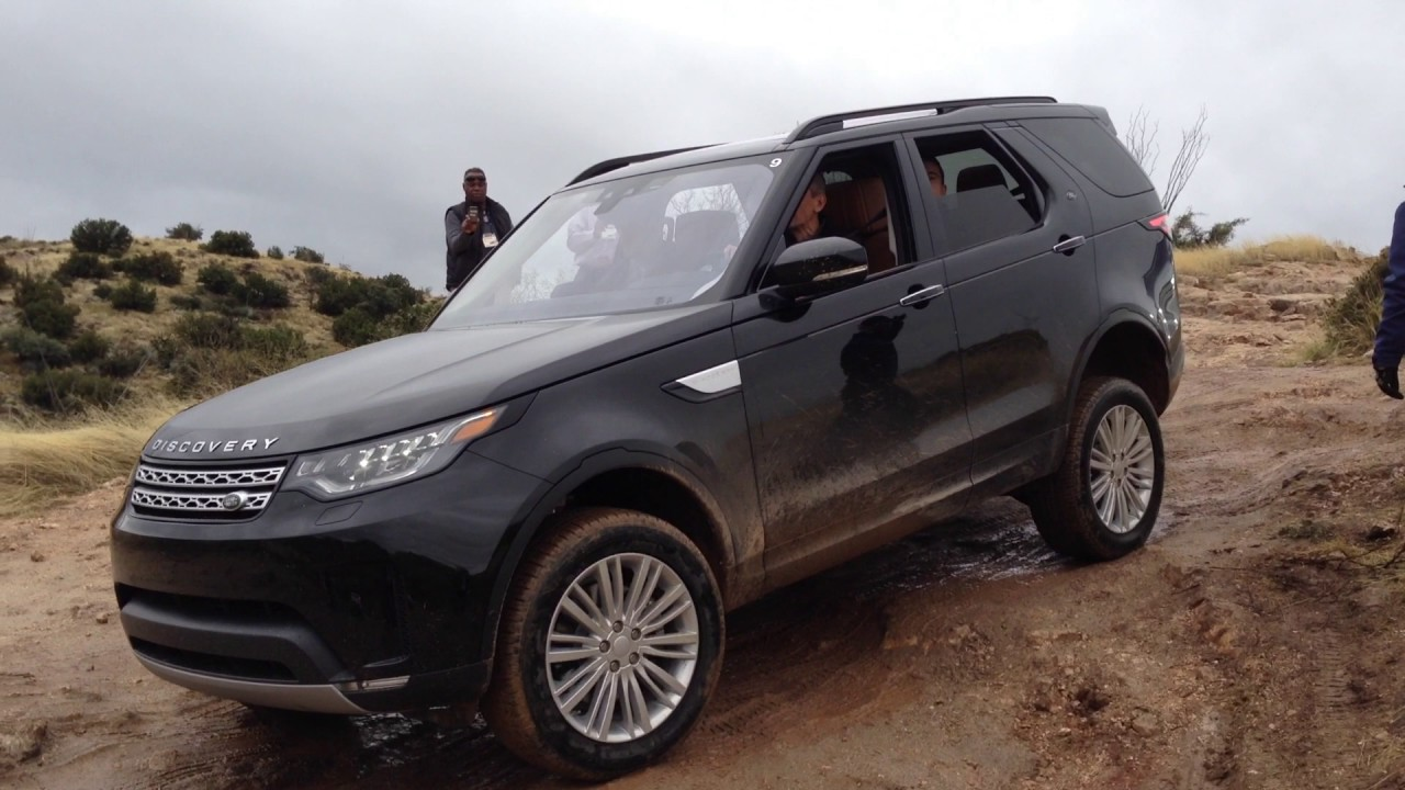 2017 Land Rover Discovery Off-Road Arizona 5 - YouTube