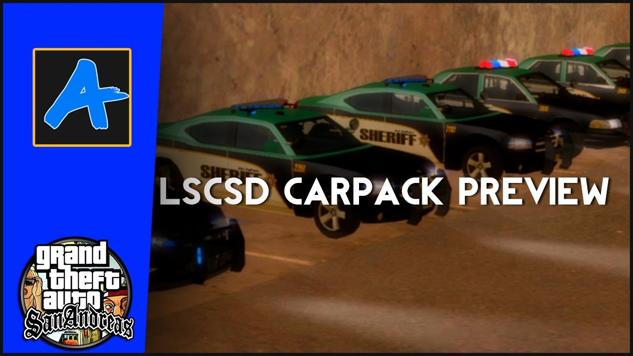 LOS SANTOS COUNTY SHERIFF CARPACK V1 0 BY IMPERATOR PREVIEW