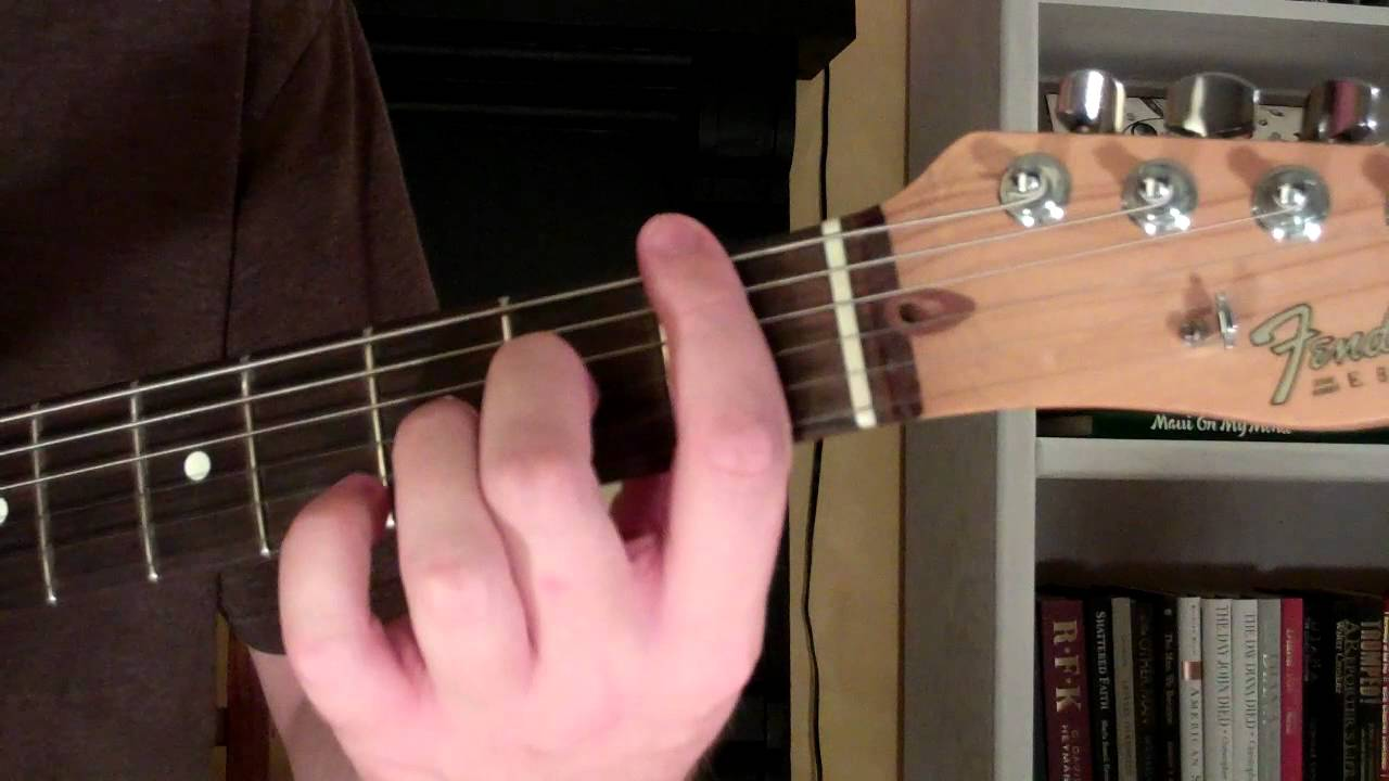 How To Play The F6 Chord On Guitar F Sixth 6th Youtube