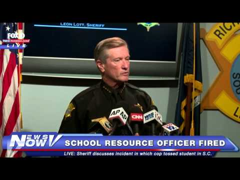 FNN: FULL - Richland Co. Sheriff Announces Deputy Ben Fields Fired for Spring Valley High Incident