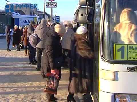 Транспорт и остановки в Перми