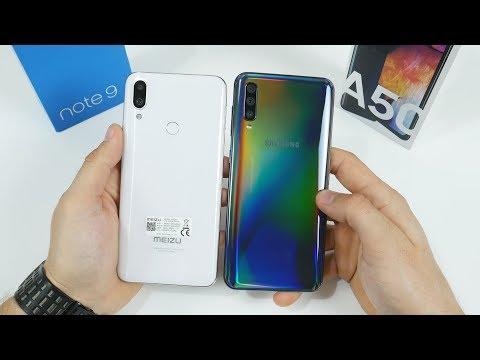 Что купить Samsung Galaxy A50 или Meizu Note 9? Кто КРУЧЕ Meizu или Samsung?