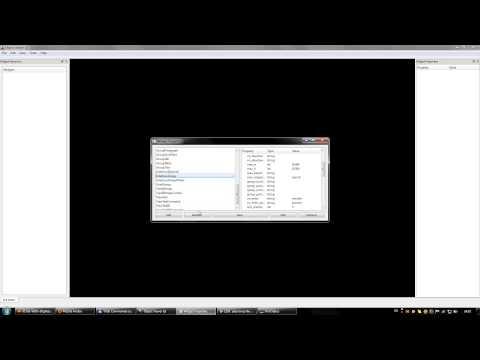 Ryzom GUI Editor: GUI widget template editor