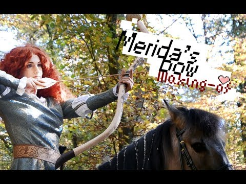[Making-of] Wooden Bow (Merida Cosplay)