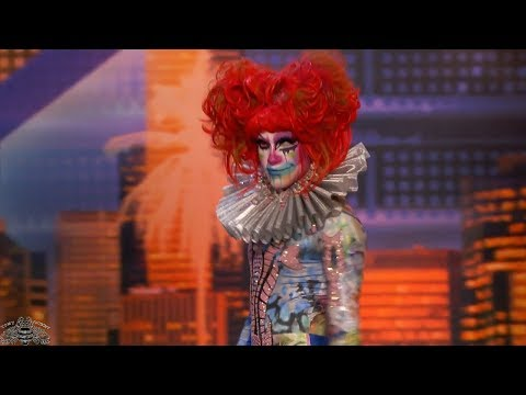 America's Got Talent 2018 Scary XXXX Full Audition S13E01