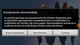 Fortnite Android APK Real Installation