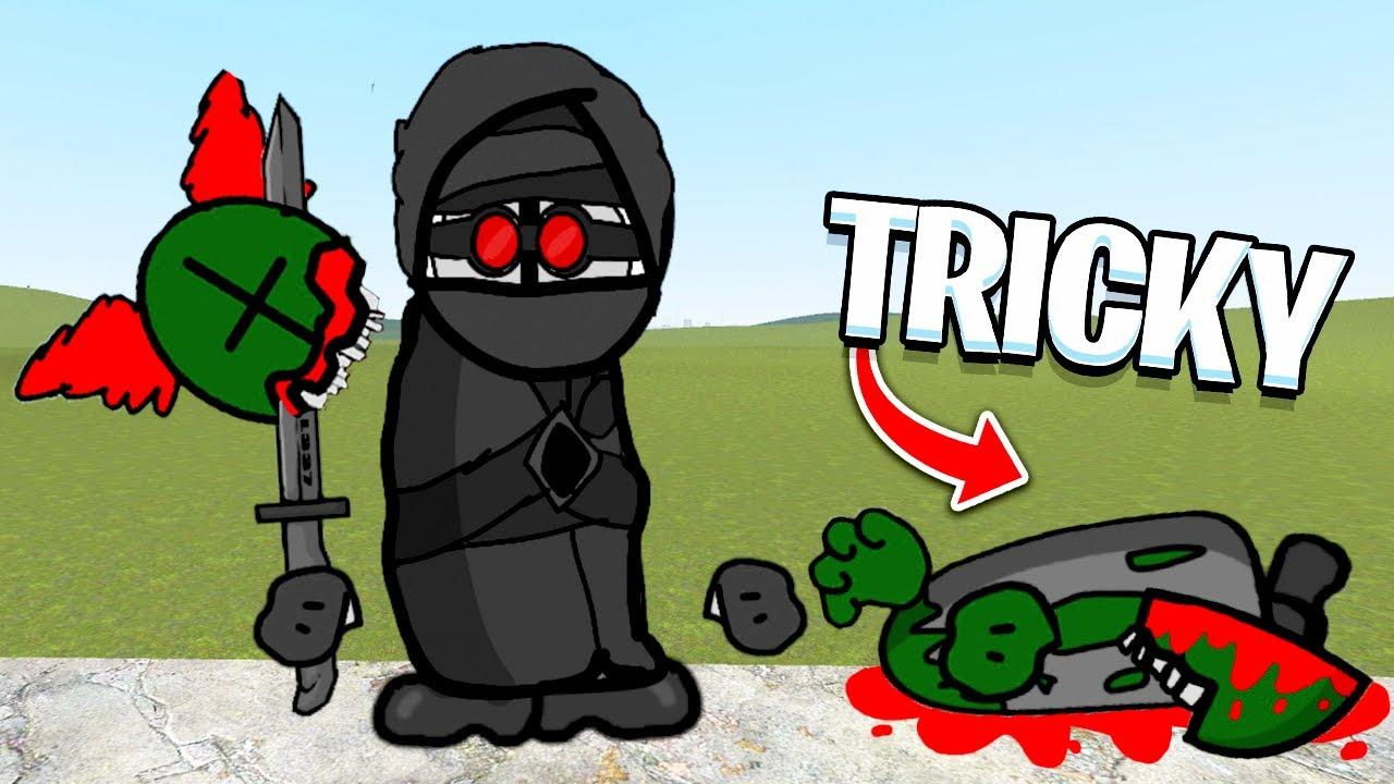 TRICKY vs HANK - Madness Combat Mod! (Garry's Mod)