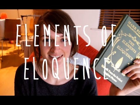 'The Elements of Eloquence' by Mark Forsyth | Review