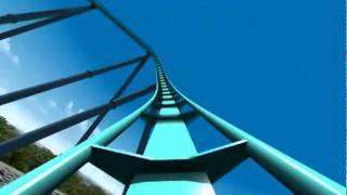 Leviathan Roller Coaster Virtual POV CGI Animated B&M Giga Coaster Canada