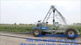 Hệ thống tưới tiêu thông minh cho mọi cánh đồng, địa hình, quy mô