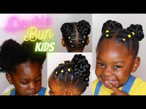 Easy Protective Hair Styles For Short Hair Black Kids Toddler Hairstyles For Short Natural Hair Youtube