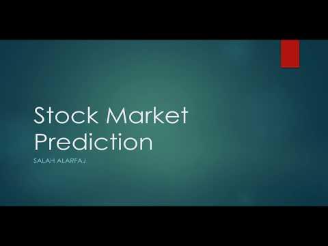 Stock Market prediction study using machine learning