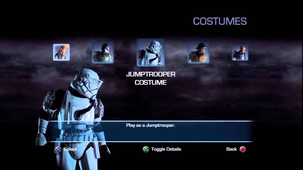 Unlocked Hidden Costumes in Star Wars <b>Force Unleashed 2</b> - YouTube
