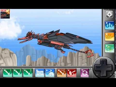 Мультик игра Роботы Динозавры: Рамфоринх (Dino Robot Rhamphorhynchus)