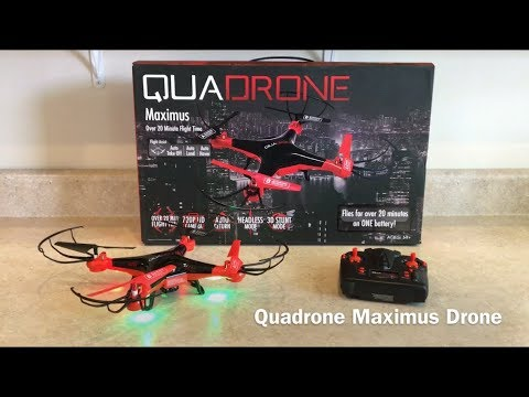 Quadrone Maximus Drone Review