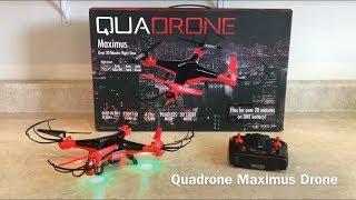 Quadrone Maximus Drone Review...