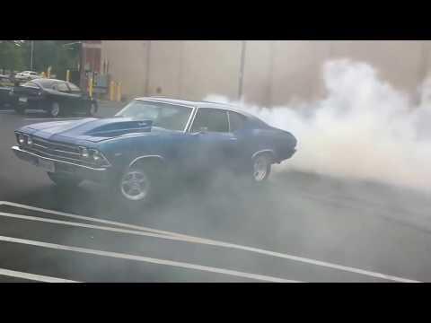 1969 Chevelle Burnout Compilation