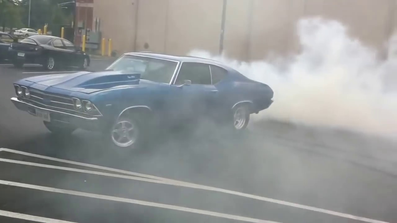 2016 Chevelle Ss >> 1969 Chevelle Burnout Compilation - YouTube