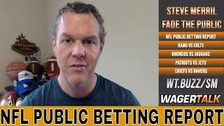 NFL Week 2 Public Betting Report | Rams vs Colts | Chiefs vs Ravens | NFL Week 2 Predictions