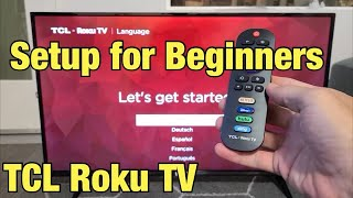 TCL Roku TV: How to Setup for Beginners (step by step)