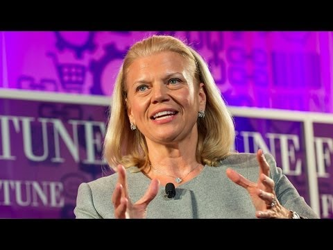 Ginni Rometty on research, social and Watson - YouTube